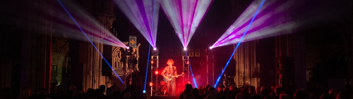 Lighting hire for events