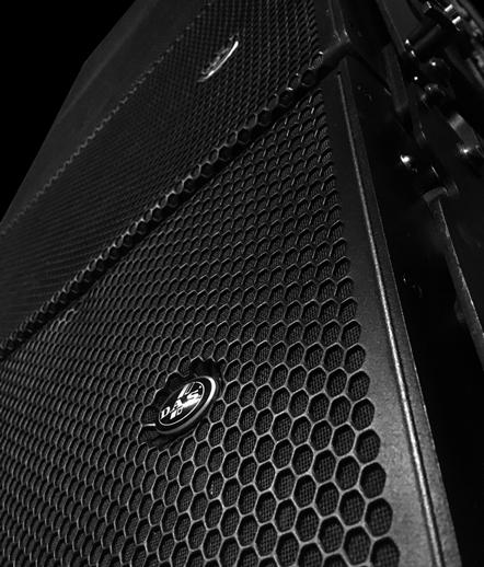 DAS Aero 12a line-array speaker boxes