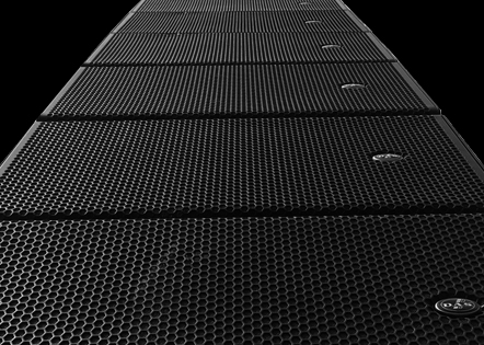 DAS Audio Aero 12A line-array speakers